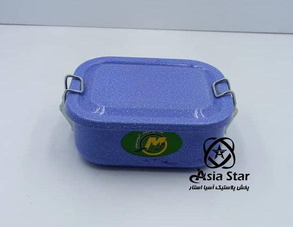 فروش ظرف غذای کتابی رنگی - پخش پلاستیک آسیا استار